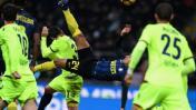 El magnífico golazo de chalaca de Jeison Murillo con el Inter