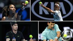 Tenis: los favoritos avanzan de ronda en el Australian Open
