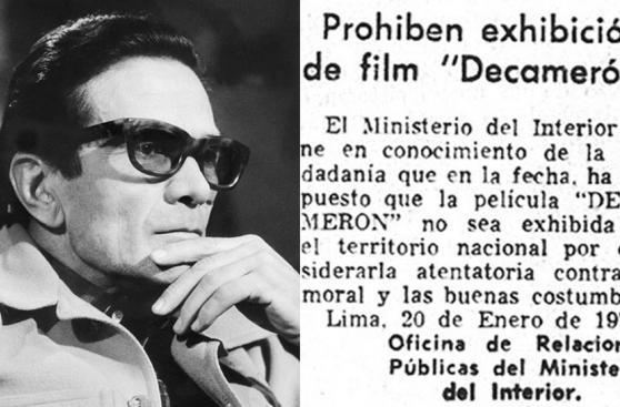 El Decamerón y otras películas censuradas en el Perú