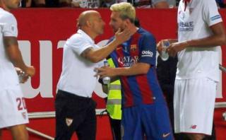 Sampaoli y el curioso elogio a Messi comparándolo con Batman