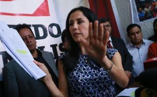 Nadine Heredia apeló fallo que impide salir libremente del país