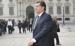 Alan García se pronunció sobre primera detención por Odebrecht