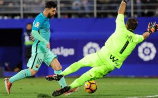 Lionel Messi anotó para Barcelona tras pase perfecto de Suárez