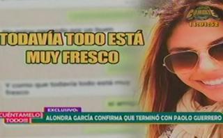 """Alondra García Miró: """"No estoy pasando por un buen momento"""""""