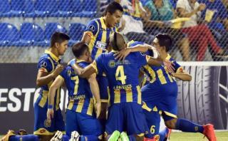 Capiatá ganó 1-0 a Táchira en su debut de Copa Libertadores