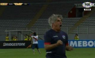 Municipal: Grioni enloqueció tras tiro que confundieron con gol