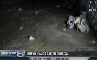Chosica sufre nuevos huaicos que bloquean la Carretera Central