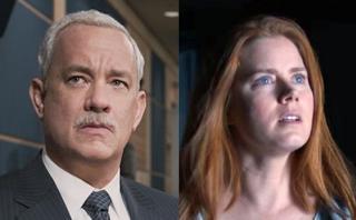 """Oscar """"nomina"""" por error a Tom Hanks y Amy Adams"""
