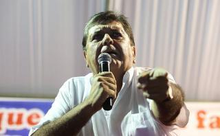 """Alan García: """"No me mezclen en sobornos de gente sin moral"""""""