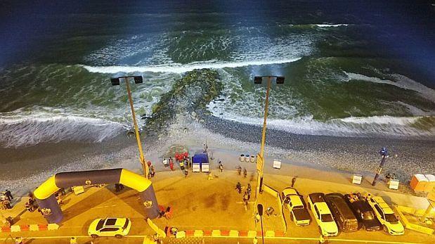 Marina multará a Lima por iluminación nocturna en La Pampilla