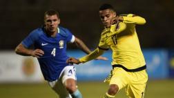 Colombia ganó 1-0 Brasil y sigue con vida en el Sudamericano