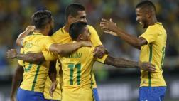 Brasil ganó 1-0 a Colombia en duelo amistoso por Chapecoense