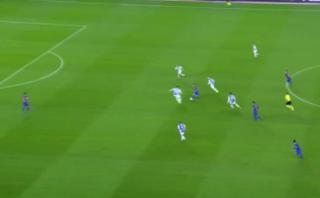 Lionel Messi: así resolvió el crack ante marca de tres zagueros