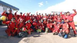 Bomberos de Cusco van a Chile para mitigar incendios forestales