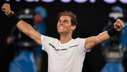 Rafael Nadal venció a Dimitrov y jugará final ante Federer
