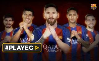 Jugadores del Barcelona dan la bienvenida al Año Nuevo Chino