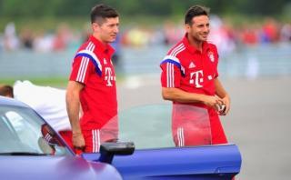 Lewandowski aseguró que no anhela el récord de Claudio Pizarro