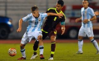 Argentina empató 0-0 ante Venezuela y sigue en Sudamericano