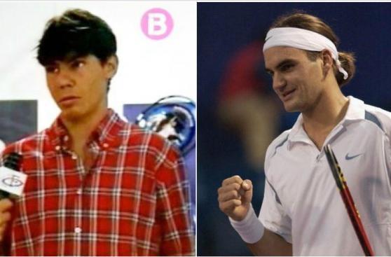 Así han cambiado Federer y Nadal con el paso del tiempo [FOTOS]