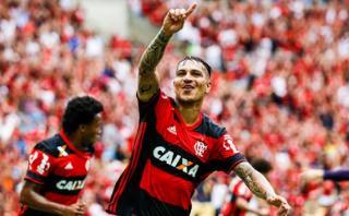 Flamengo goleó 4-1 a Boavista con tantos de Guerrero y Trauco