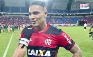 Paolo Guerrero habló sobre buen momento de Trauco en Flamengo