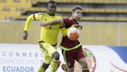 Colombia y Venezuela empataron 1-1 en inicio de Hexagonal Final