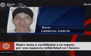 Chosica: mujer acuchilló a su esposo y lo abandonó en un puente