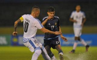 Uruguay goleó 3-0 a Argentina por el Hexagonal Final [VIDEO]