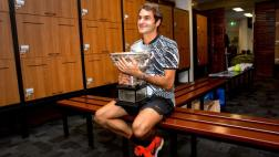 Federer contó cómo celebró hasta el amanecer luego del título