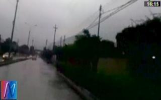Lluvias de nuevo ponen en riesgo tránsito en Carretera Central