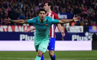 Barcelona: golazo de Suárez ante Atlético con genial autopase