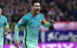 Lionel Messi silenció el Calderón con este 'misil' al ángulo