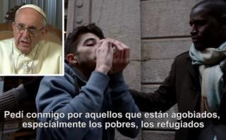 El Papa Francisco pide a sus seguidores acoger a los refugiados