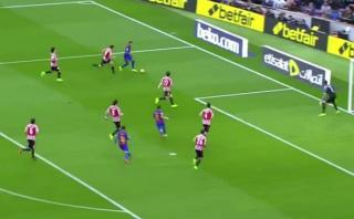 La gran jugada de Neymar en el primer gol del Barza al Bilbao