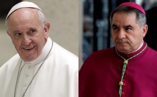 Francisco pone a su N° 3 en el Vaticano en la Orden de Malta
