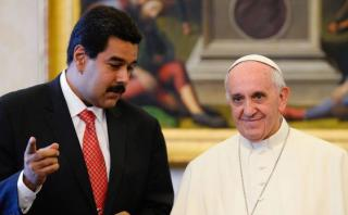 Maduro dice que gestiona reunión con oposición en el Vaticano