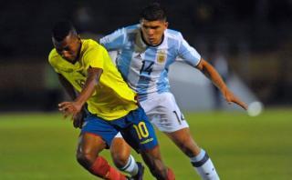 Ecuador superó 3-0 a Argentina y aún vive en el Sudamericano