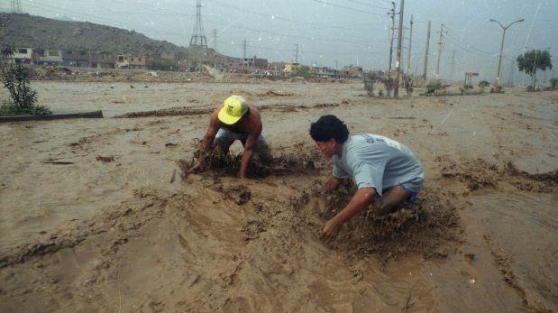 Reportan nuevo huaico en la quebrada Huaycoloro