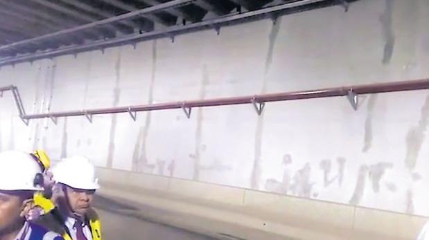 Habrá otra inspección a túnel de Línea Amarilla por fisuras