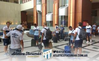 Tucumán quedó varado y su partido de Copa está en suspenso
