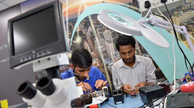 Jóvenes de la India, innovadores emprendedores de la tecnología ...