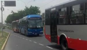 Buses de la Municipalidad de Lima no se detienen en paraderos