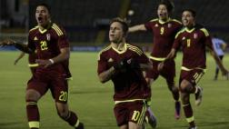 Venezuela ganó 3-0 a Uruguay en cuarta fecha hexagonal Sub 20