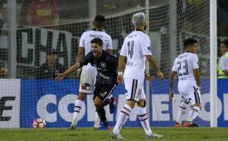 Colo Colo, con Christofer Gonzales, fue eliminado por Botafogo
