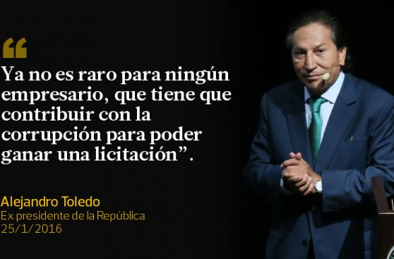 Lo que decía Alejandro Toledo sobre la corrupción [FRASES]