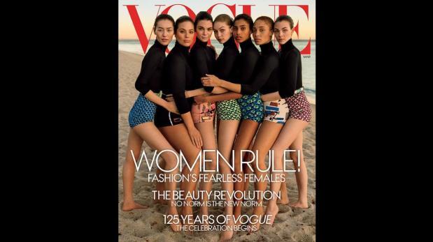 La portada más diversa de Vogue termina desatando polémica