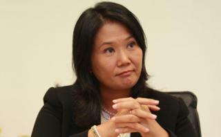 """Keiko Fujimori saludó """"sanción ejemplar"""" para Alejandro Toledo"""