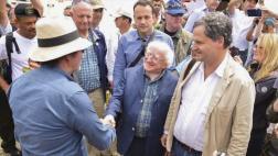 Presidente de Irlanda visitó sitio de agrupamiento de las FARC