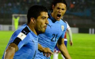Suárez y Cavani felicitan a la selección uruguaya Sub-20