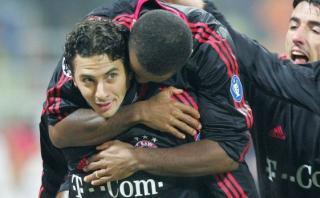 Bayern recuerda los golazos de Claudio Pizarro ante Arsenal